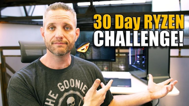 JayzTwoCents 30 Day Challenge – Video Editing on the Ryzen 1800X [Updated]