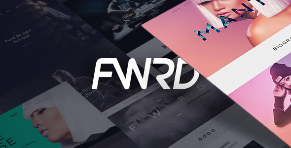 FWRD - Music Band and Musician WordPress Theme