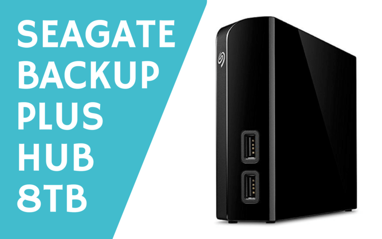 Seagate Backup Plus Hub 8TB USB 3.0 HDD review
