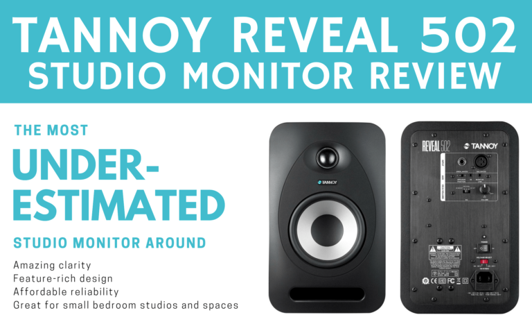 Tannoy Reveal 502 studio monitors review