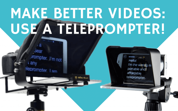 How to pick the best teleprompter for more professional videos