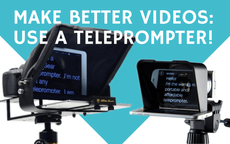 18 best teleprompters for more professional videos [2020]