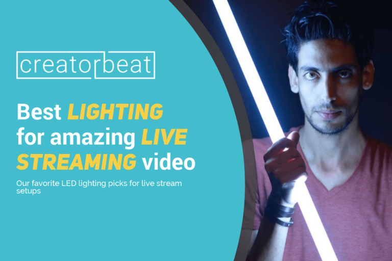 Best lighting for live streaming video [2020]