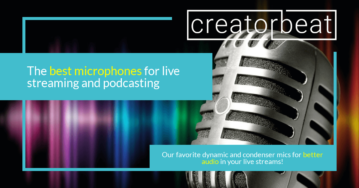 21 Best microphones for live streaming and podcasting [2021]